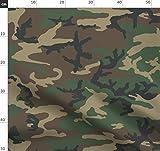 Armee, Wald, Klecks, Tarnfarbe, Stoffe - Individuell