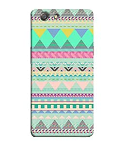 PrintVisa Designer Back Case Cover for Oppo Neo 5 :: Oppo A31 :: Oppo Neo 5S 2015 (Abstract Illustration Background Backcase Pouch Graphics)