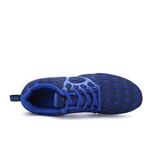 Husto-T, Scarpe da corsa uomo Blu