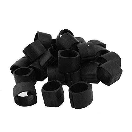 Sourcingmap® Kunststoff Home Möbel Stuhl Rohr Fuß Klemme Pads U-Form Kappen 30Stück de