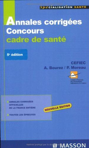 Annales corrigées concours cadre de santé 2007/2008: POD