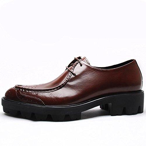 Lacets moderne classique confort dentelle boucle robe Casual chaussures