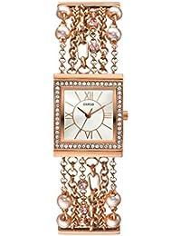 Guess - W0140L3 - Montre Femme - Quartz Analogique - Bracelet Métal Or Rose