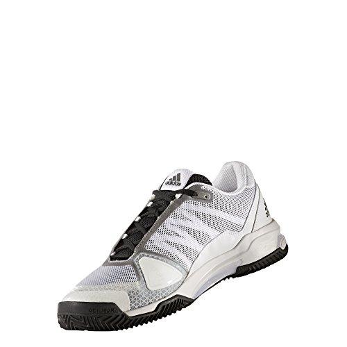 adidas Herren Barricade Club Clay Tennisschuhe Weiß