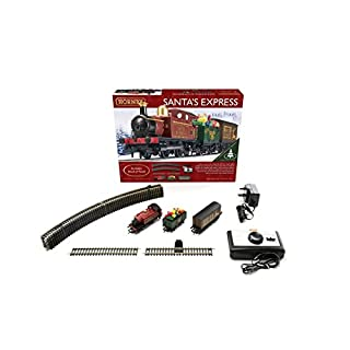 Hornby R1210 Santa's Express Christmas Train Set, Multi