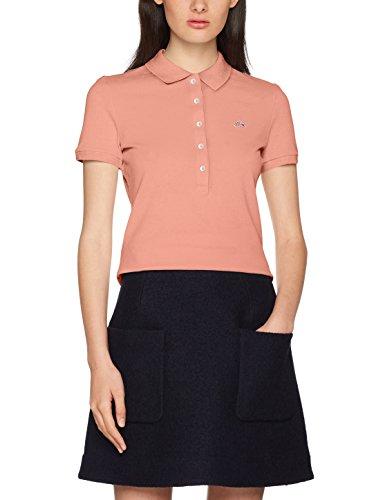 Lacoste Damen Poloshirt PF7845, Pink (Shany Nuq), 36(Herstellergröße: 38)
