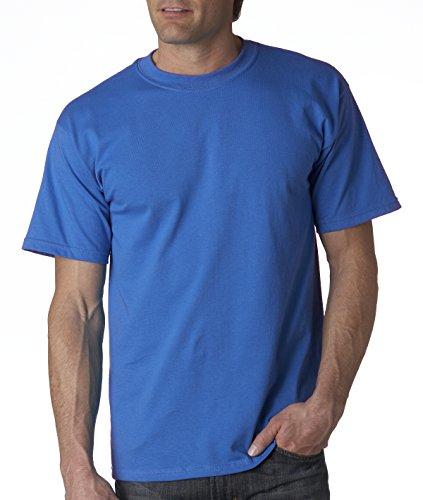 gildan-camiseta-basica-de-manga-corta-modelo-ultra-cotton-para-hombre-caballero-grande-l-azul-