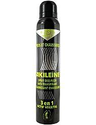 Akileïne Spray Pieds et Chaussures 200 ml dont 33% Offert
