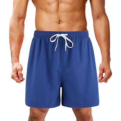 Lk lekuni pantaloncini da bagno da uomo pantaloncini da bagno pantaloncini da snowboard asciugatura rapida multicolore_blu navy_3xl
