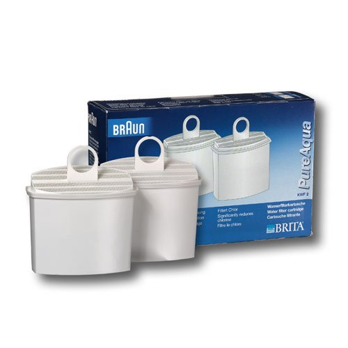 Braun AromaSelect pureaqua KWF 2 Wasserfilter weiß