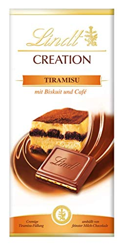 Lindt Creation Tiramisu - 150g Bar - Imported, not available in UK shops