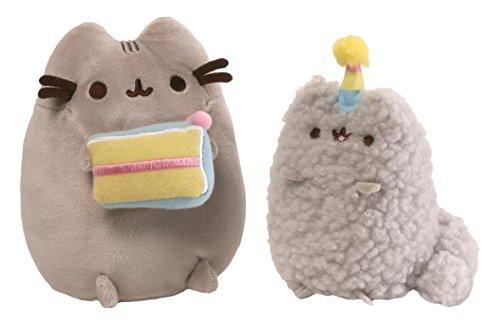 GUND-4059126-Pusheen-Birthday-Set-Soft-Toy