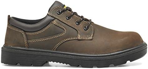 Parade 07 First * 28 45 zapato de seguridad bajo marrón, Marrón, 07FIRST*28 45 PT48