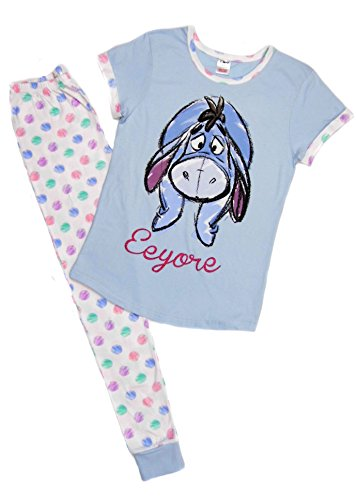 Femmes Character Pyjamas 8-10 12-14 16-18 20-22 Super Femme Tinkerbell Porcinet Marvel Héros Pastel Eeyore
