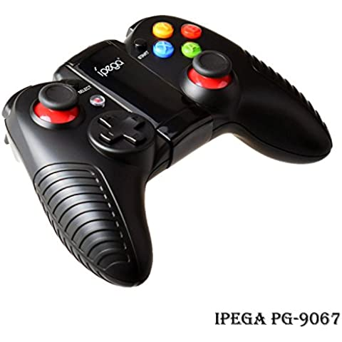 UltraGear iPega PG-9067 Dark Knight Bluetooth Gamepad Samsung Gear VR Controller Oculus VR Headset Wireless Game Controller Joystick per Android TV Box iOS smartphone