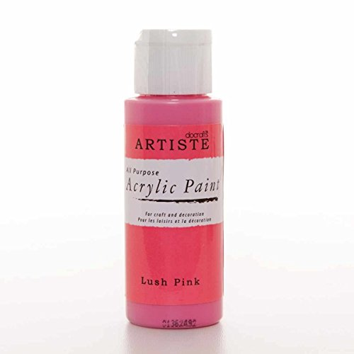 Docrafts - Artiste Acrylfarbe - Lush Pink