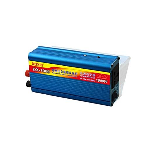 ZHJYD 800 Watt Auto Wechselrichter, 1500 Watt Externe versicherung wechselrichter DC12V zu AC220V verpolungsschutz Funktion wechselrichter.