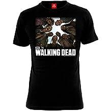 The Walking Dead Walkers Camiseta Negro XL