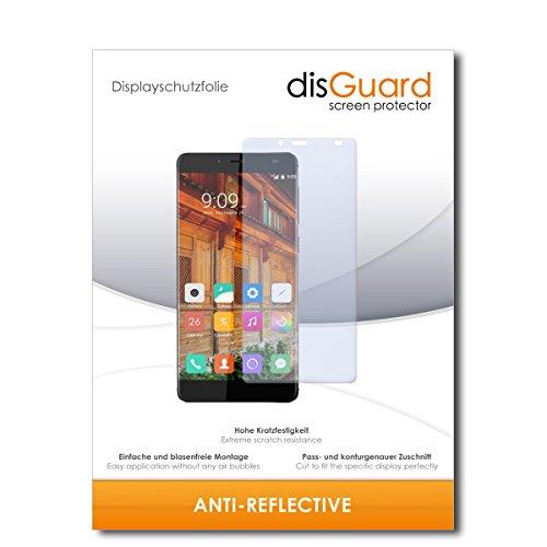 disGuard® Bildschirmschutzfolie [Anti-Reflex] kompatibel mit Elephone S3 Lite [2 Stück] Entspiegelnd, Matt, Antireflektierend, Extrem Kratzfest, Anti-Fingerabdruck - Panzerglas Folie, Schutzfolie