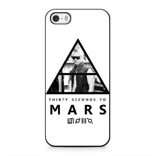 Personnalisé téléphone coque pour iPhone 5 5s Couleur Noir 30 SECONDS TO MARS Nombre SERIUUUFJ2908 iPhone 5 5s coque, Coques iphone Veronica Mars