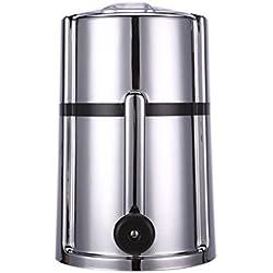 Machine à Glace Sorbetière Électrique Crème Glacée Sorbetière Refrigerante, Machine a Sorbet Glace, Crème Glacée, Yaourt, Facile à Utiliser - Fancylande