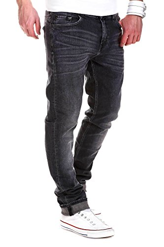 7 for all Mankind Jeans RONNIE Grey Horizon - Dunkelgrau [W28]
