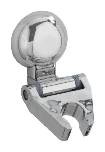 Wenko 20619100 Magic Loc, Duschkopfhalter Fiorina, Befestigen ohne bohren, 6 x 8 x 9 cm, chrom, Kunststoff