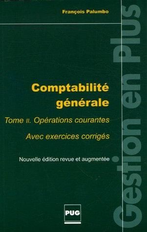 Comptabilité générale, tome 2