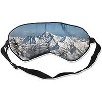 Eye Mask Eyeshade Snow Clouds Mountains Sleeping Mask Blindfold Eyepatch Adjustable Head Strap preisvergleich bei billige-tabletten.eu