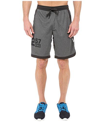 Reebok Herren ONE Series Speedwick Mesh Knit Shorts DGH Solid Grey, XS - Solid Knit Short