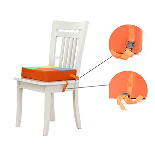 Cuscino-da-viaggio-in-tessuto-Oxford-Rialzo-per-sedia-da-sala-da-pranzo-per-bambino-bambino-ragazzaragazzo