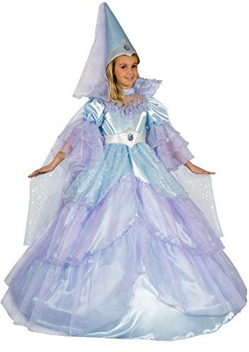 Der Träume Fee Kostüm - Blumen Paolo 26295-Fee der Träume blauen Kostüm Karneval Atelier 7-9 anni hellblau
