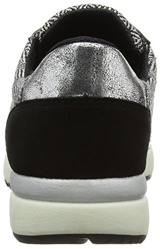 CafèNoir - Sneakers, Scarpe da corsa Donna Multicolore (Mehrfarbig (586 MULTI NERO))