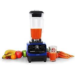 Klarstein • Herakles-3G • Standmixer • Power-Blender • Hochleistungsmixer • Smoothie Maker • 1500 Watt • BPA-frei • 40.000 Umdrehungen pro Minute • 2 Liter Fassungsvermögen • Puls-Funktion • 6 Edelstahlklingen • Zerkleinerer • Icecrusher • blau