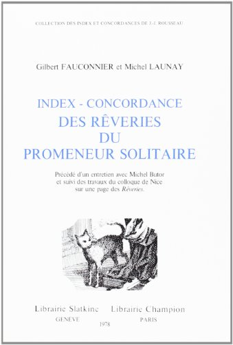 Reveries Du Promeneur Solitaire [Pdf/ePub] eBook