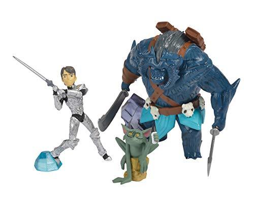 Böse Kostüm Troll - Simba 109211000 Trolljäger 3er Figurenset mit Jim, Bular und Goblin, Mehrfarbig