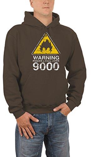 Touchlines Warning Power Level Over 9000, Felpa