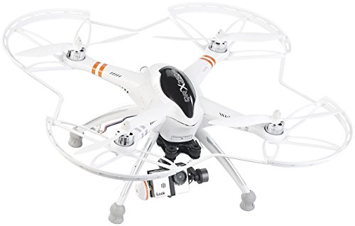 Simulus Quadrocopter QR-X350.PRO mit Fernsteuerung, Gimbal & Full-HD-Cam - 3