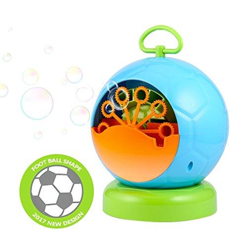 Seifenblasenmaschine, OCDAY Tragbare Hunde-Seifenblasen-Maschine Propeller Design Automatischer Seifenblasen für Kinder Geburtstage Hochzeiten und Party (Besten Maschine Blasen)