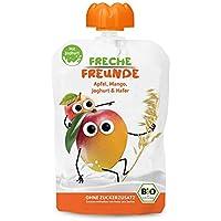 Freche Freunde Bio Quetschie Mango, Joghurt & Hafer 6-er Pack (6 x 100g)