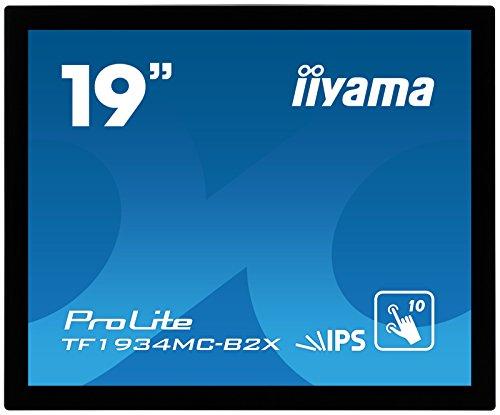 Iiyama TF1934MC-B1X 19-Inch Monitor (Capacitive Touch Screen, USB/Serial with Mounting Kit)