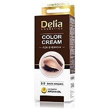 Delia Brown Cream for Eyebrow & Eyelashes - 30 ml (1 Product!)