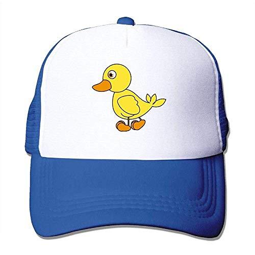 Cord-mesh Back Cap (Hoswee Unisex Kappe/Baseballkappe, Mesh Back Trucker Cap Cartoon of A Rubber Duck Air Mesh Polyester Cap)