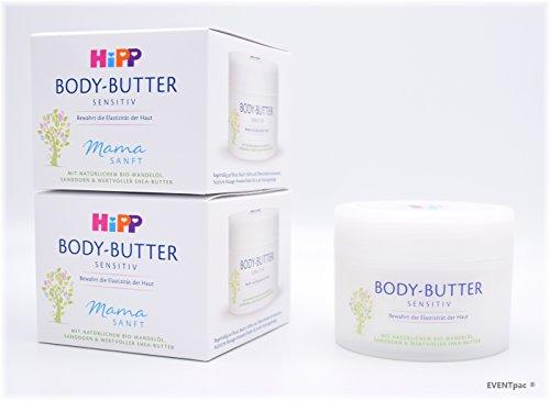 HiPP Mamasanft Body-Butter, 3er Pack (3 x 200ml)