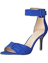 Nine West mujer sintético Gainey Heeled Sandal