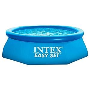 Intex Easy Set 28110NP Piscina Rotonda 244 x 76 cm