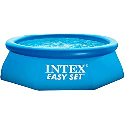 Intex Easy Set - Piscina hinchable, 244 x 76 cm, 2.419 l