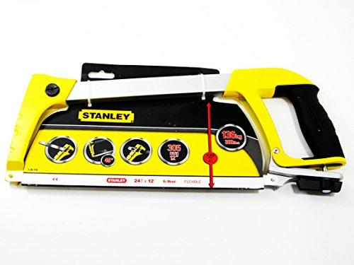 """Stanley 1-20-110 12"""" / 305MM Hacksaw / Saw / Sawing Dynagrip Heavy Duty 24T /12"""" Test"""