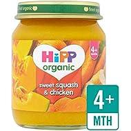 Hipp Organique Douce Courge Et Poulet 125G - Paquet de 2