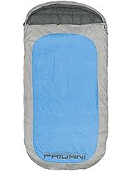 Fridani Schlafsack PB 220 x 110 cm XXL Deckenschlafsack Blau -18°C warm wasserabweisend waschbar